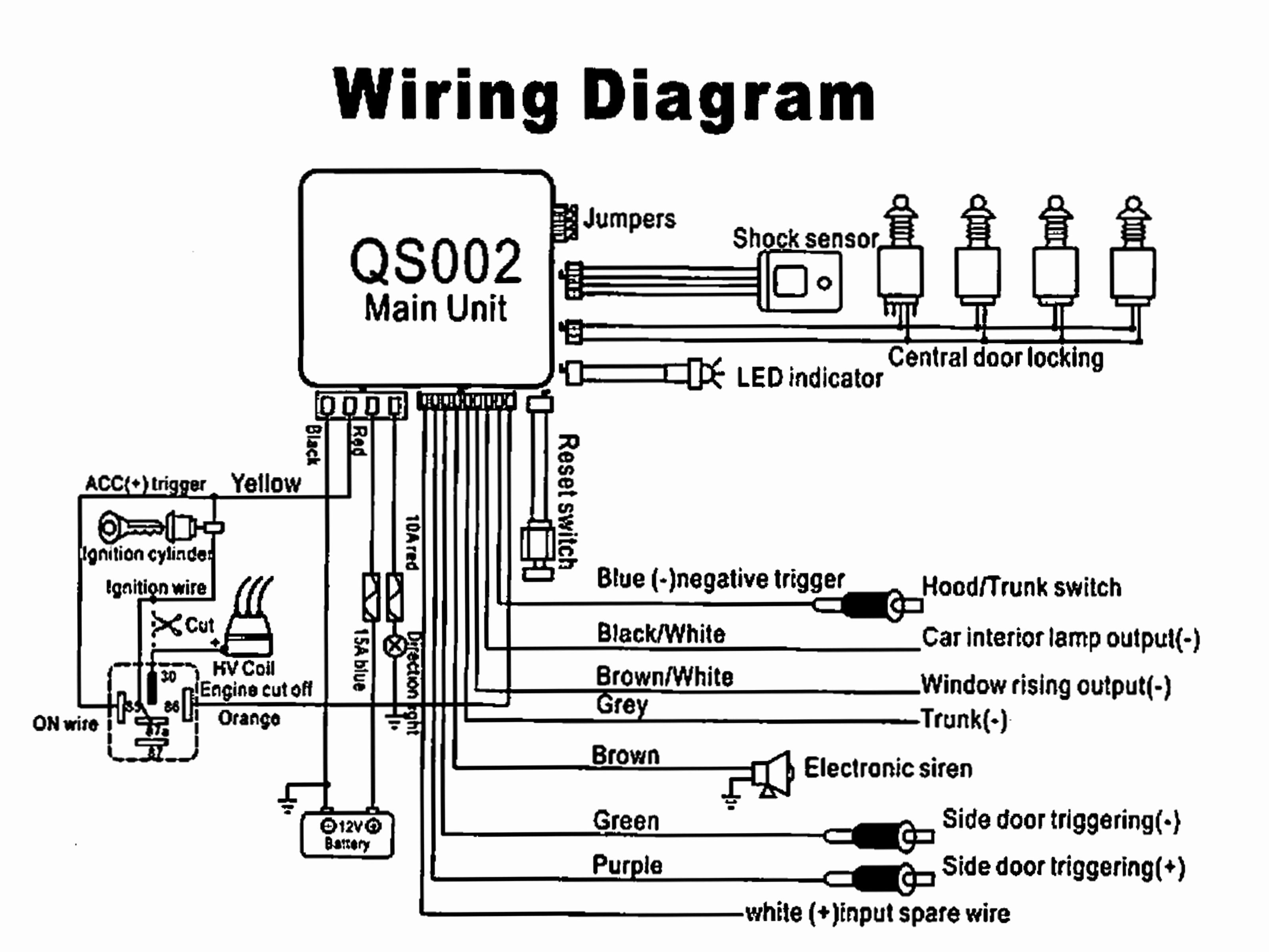 Audiovox Prestige Car Alarm Wiring Diagram