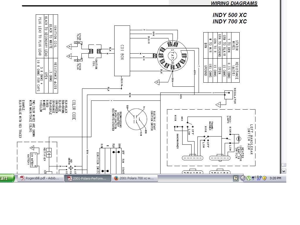 Polaris Sportsman 600 Twin Wiring Diagram