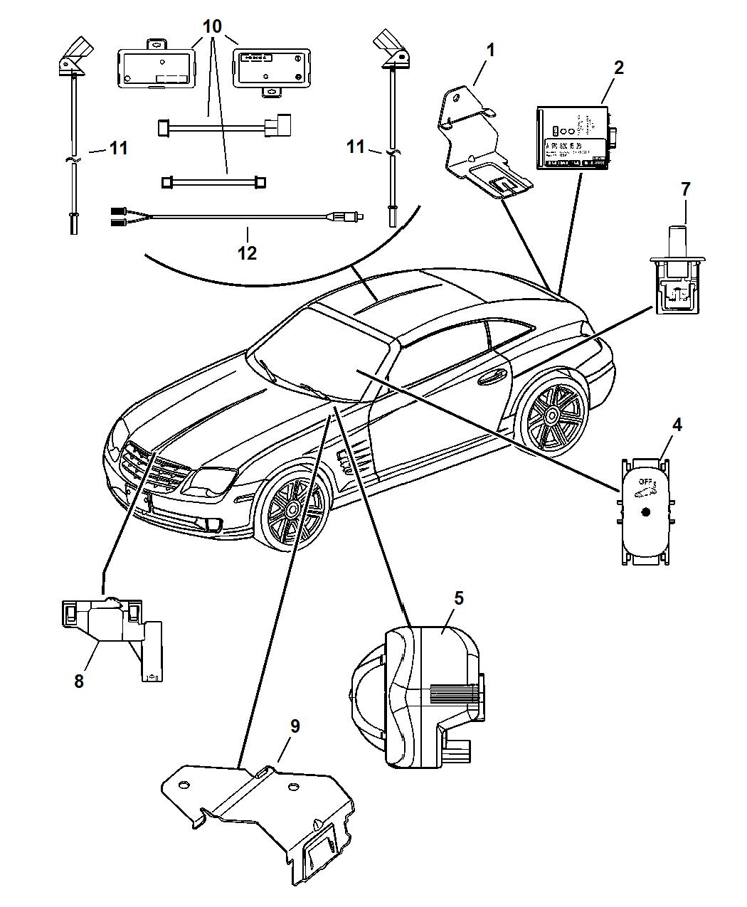 Dn Chrysler Crossfire Lights Diagram Schematic Wiring