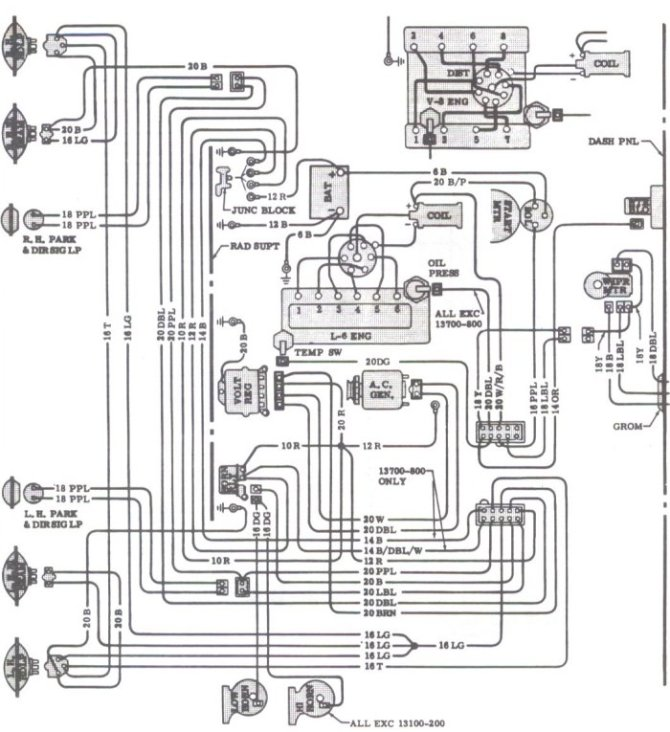 1967 chevelle wiring schematic dell wiring diagram p6 and