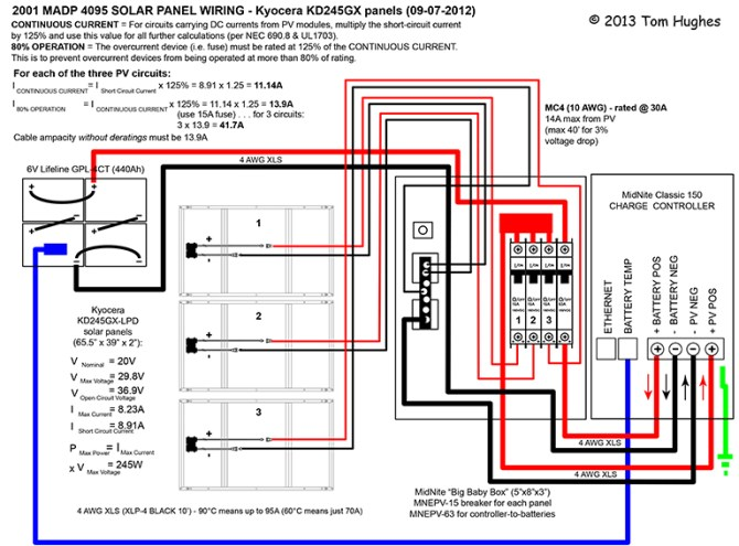 rr6746 diy solar panel system wiring diagram pdf schematic