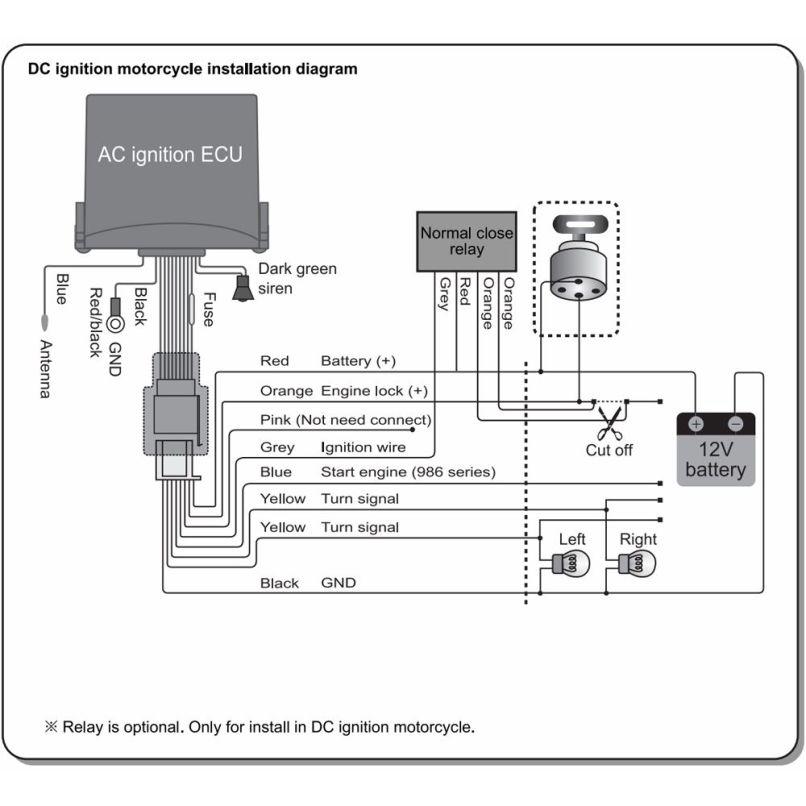 Meta Motorcycle Alarm Wiring Diagram