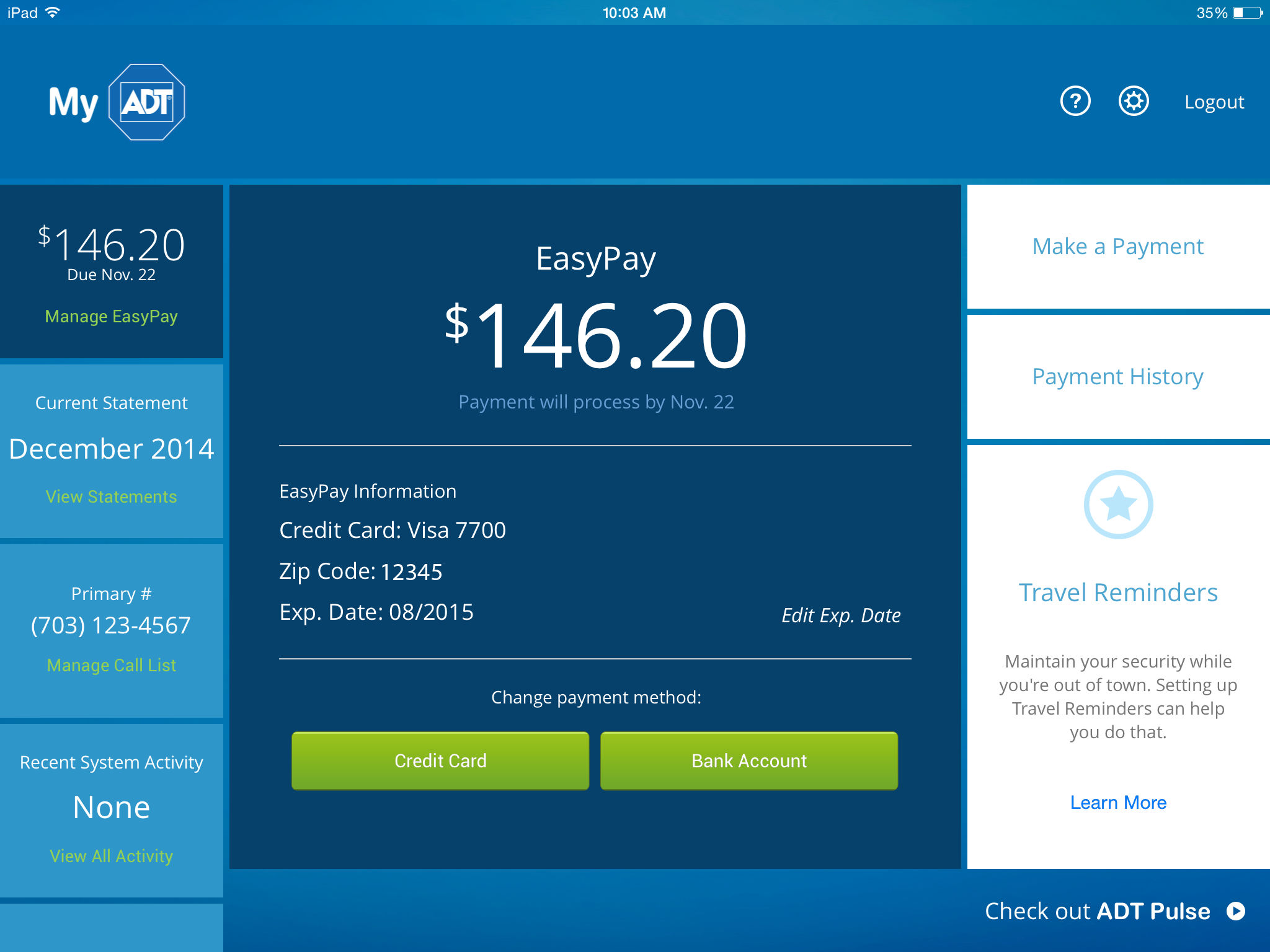 Adt Payment Center