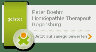 Peter Boehm, von sanego empfohlen