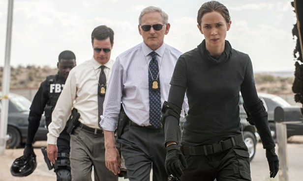 Victor Garber and Emily Blunt lead the way in Sicario.