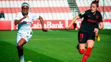 El Sevilla Femenino planta cara al Atlético de Madrid (2-2)