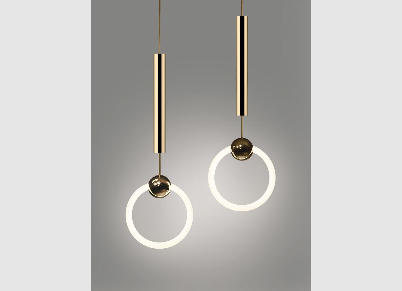 replica lee broom ring light