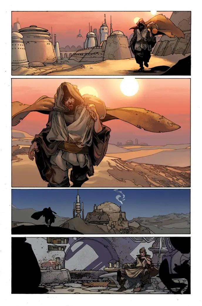 Star Wars 7 bianchi art