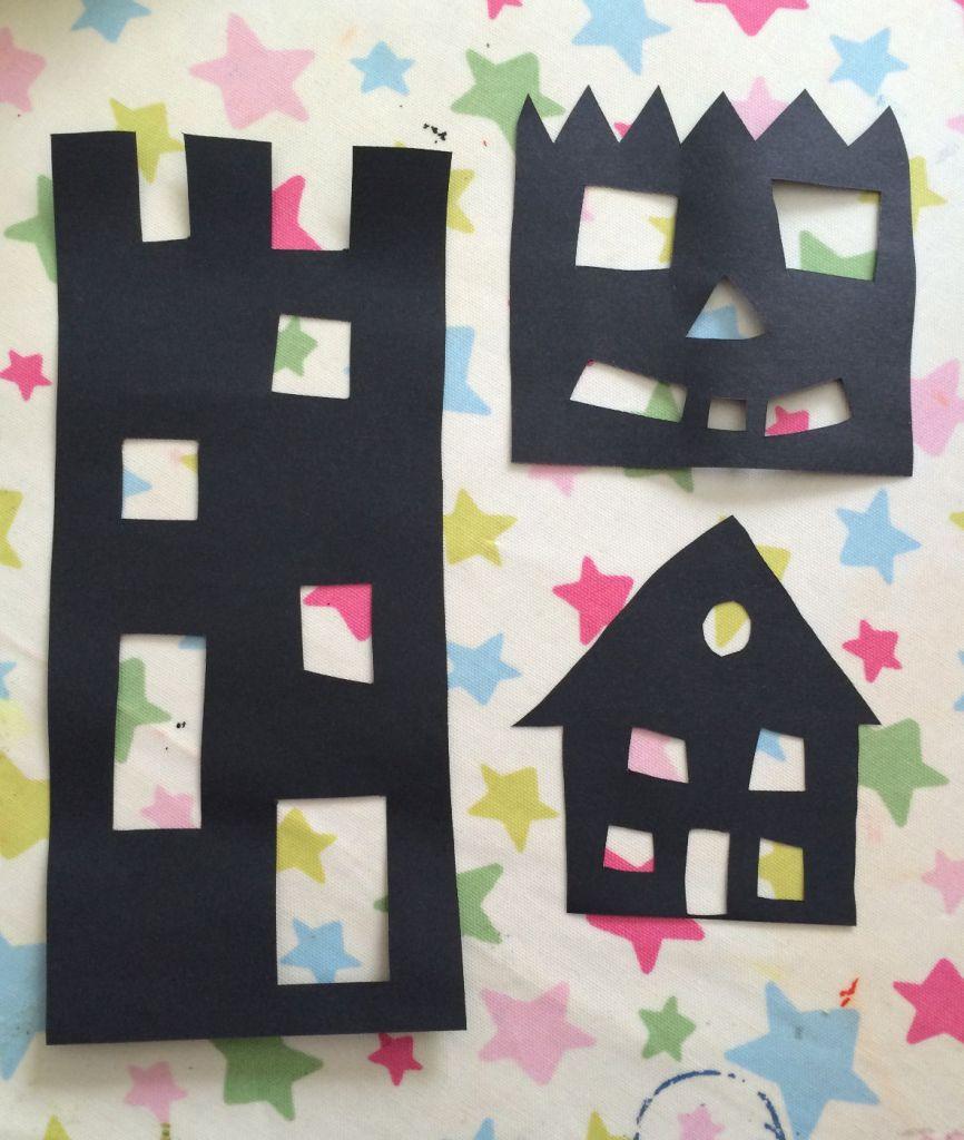 spooky Halloween houses