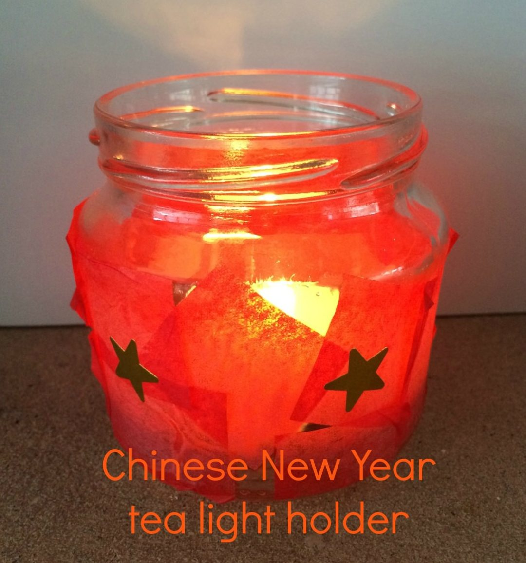 Chinese new year tea light