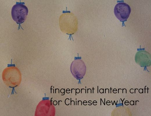fingerprint Chinese lanterns