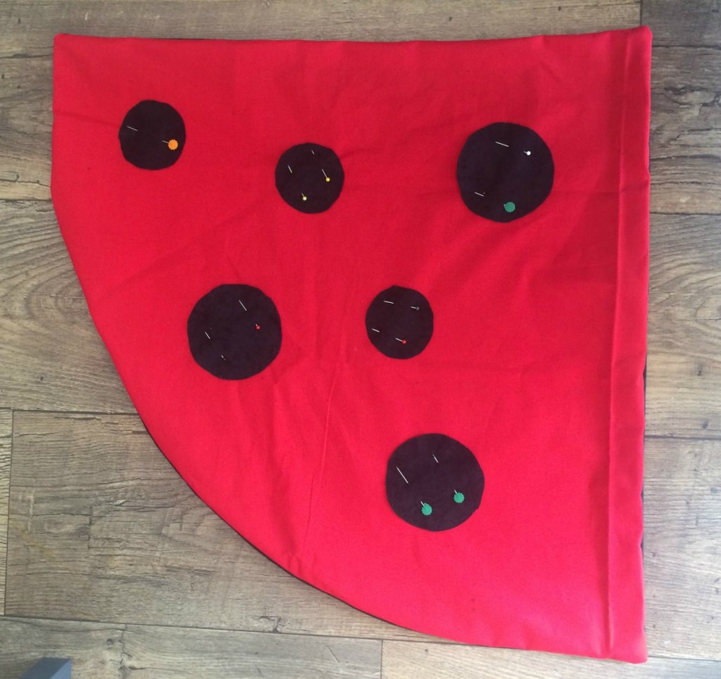 how to make a ladybird costume