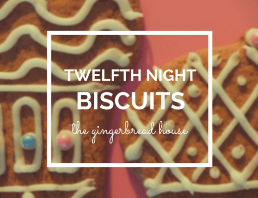 Twelfth Night biscuits for Three Kings Day