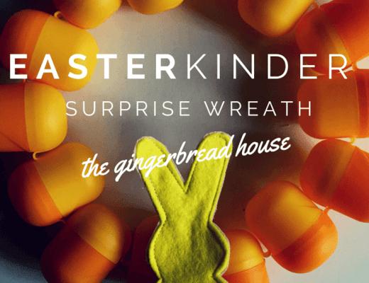 Easter KINDER Surprise wreath