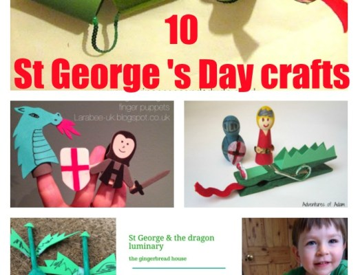 craft ideas for St George' Day