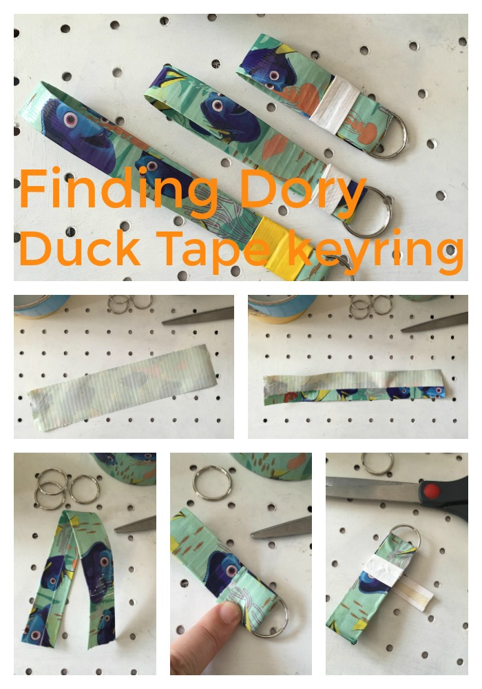 Finding Dory Duck Tape keyring