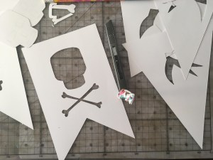 Swallows and Amazons inspired bunting