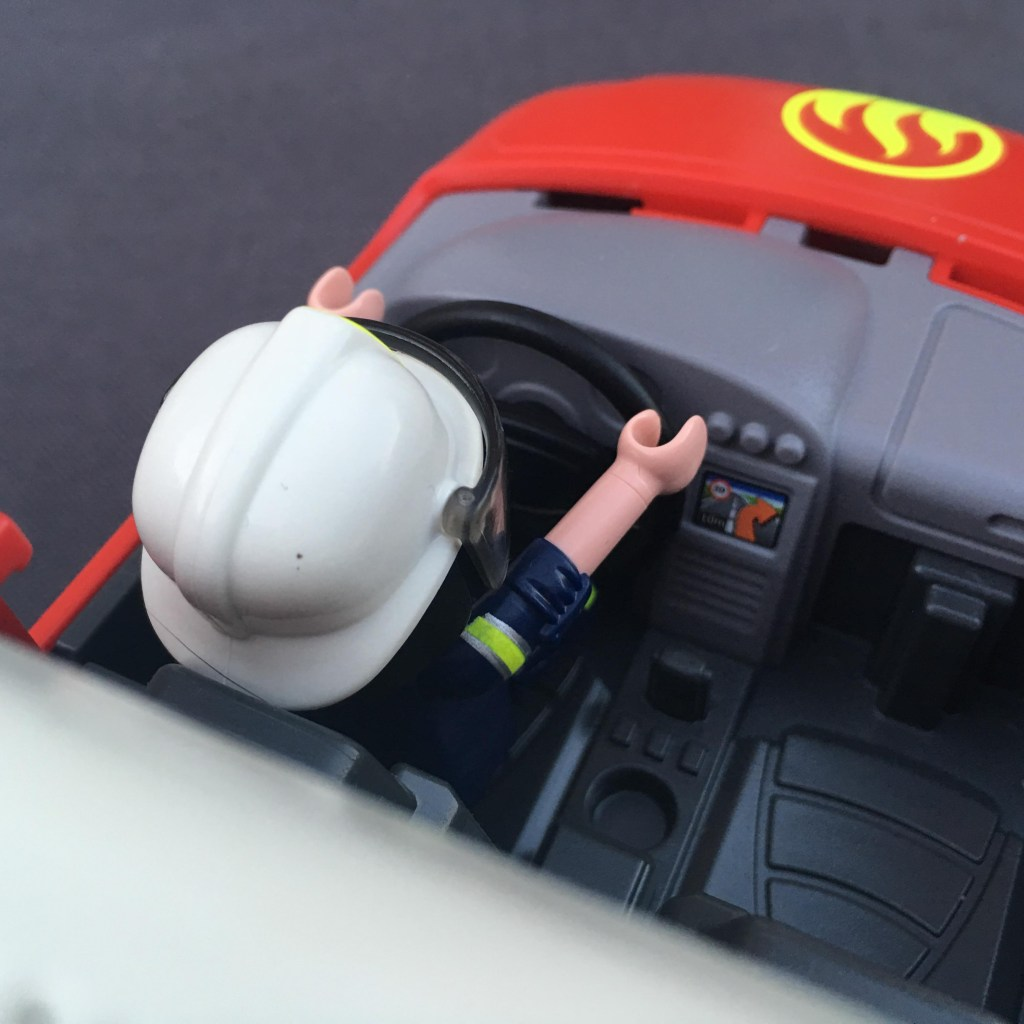 Playmobil Fire Chiefs Car with Lights and Sound