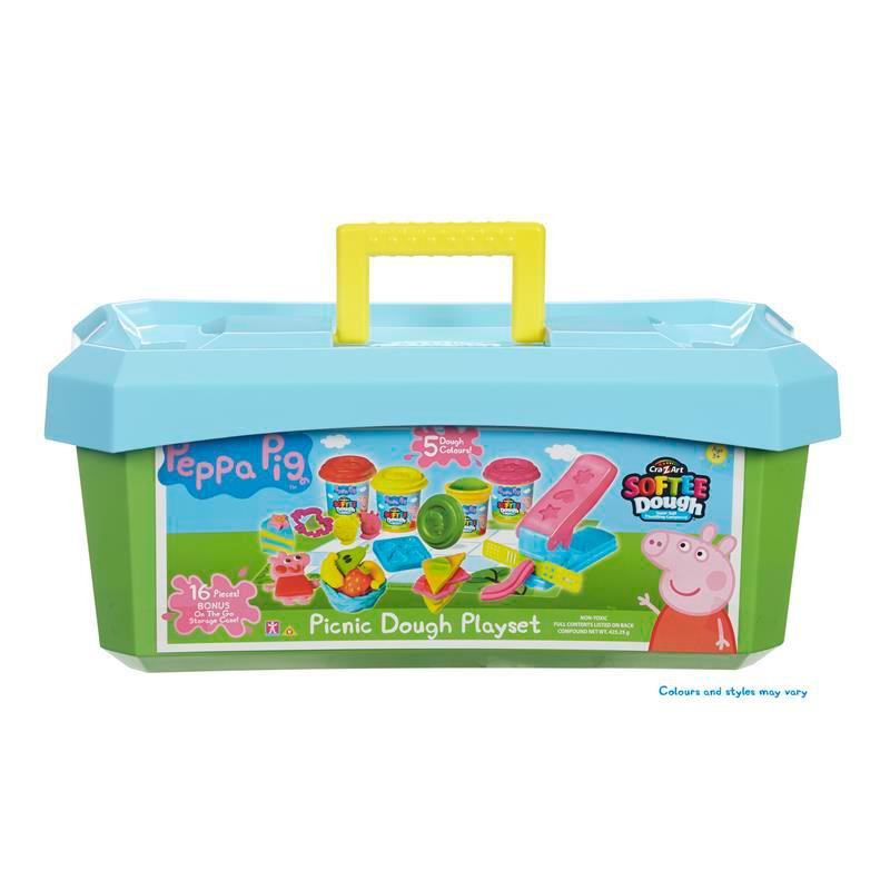 Peppa Pig Softee Dough Picnic Playset