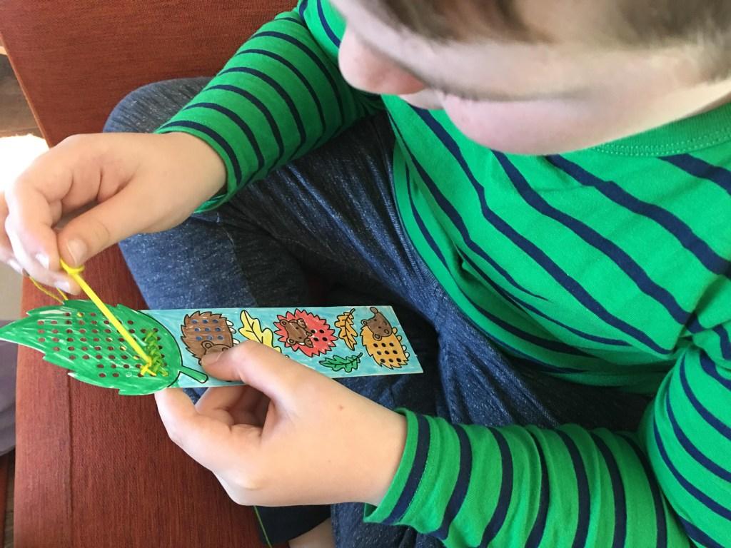Autumn Cross Stitch Bookmark Kits