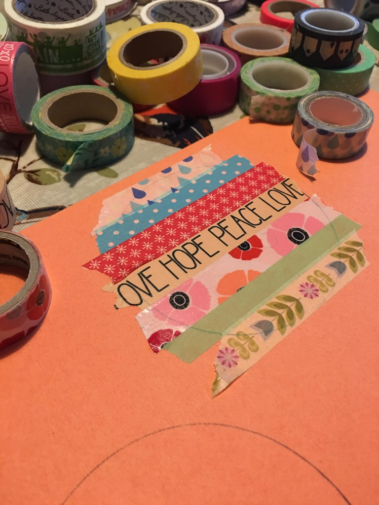 washi tape baubles