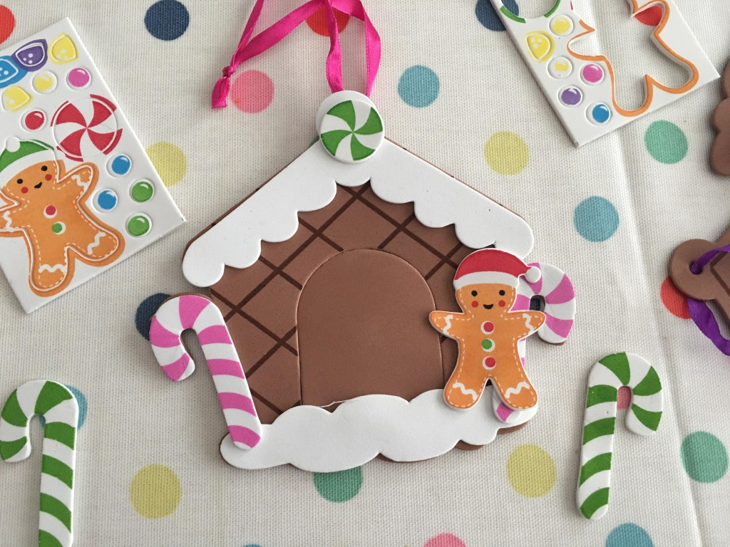 Gingerbread House Photo Frame Decorations