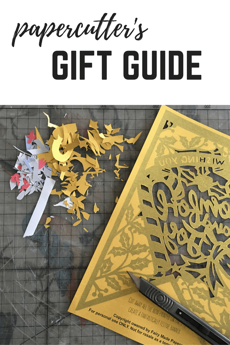 Gift guide for Papercutters
