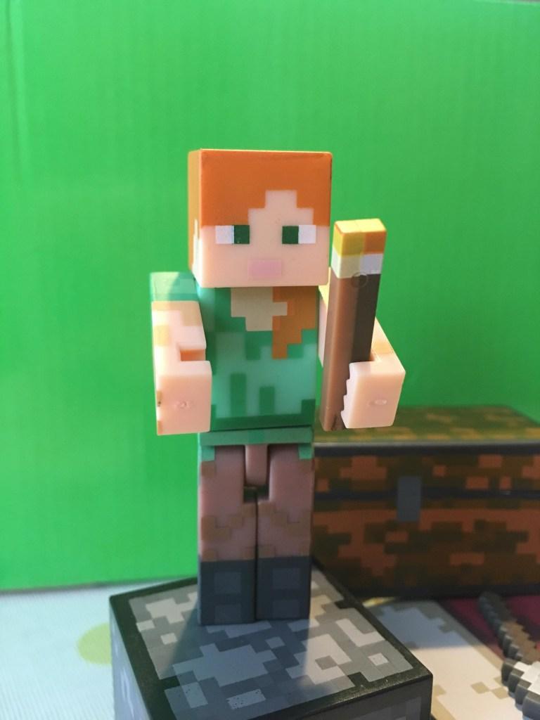 is Alex Minecraft a girl or boy figure