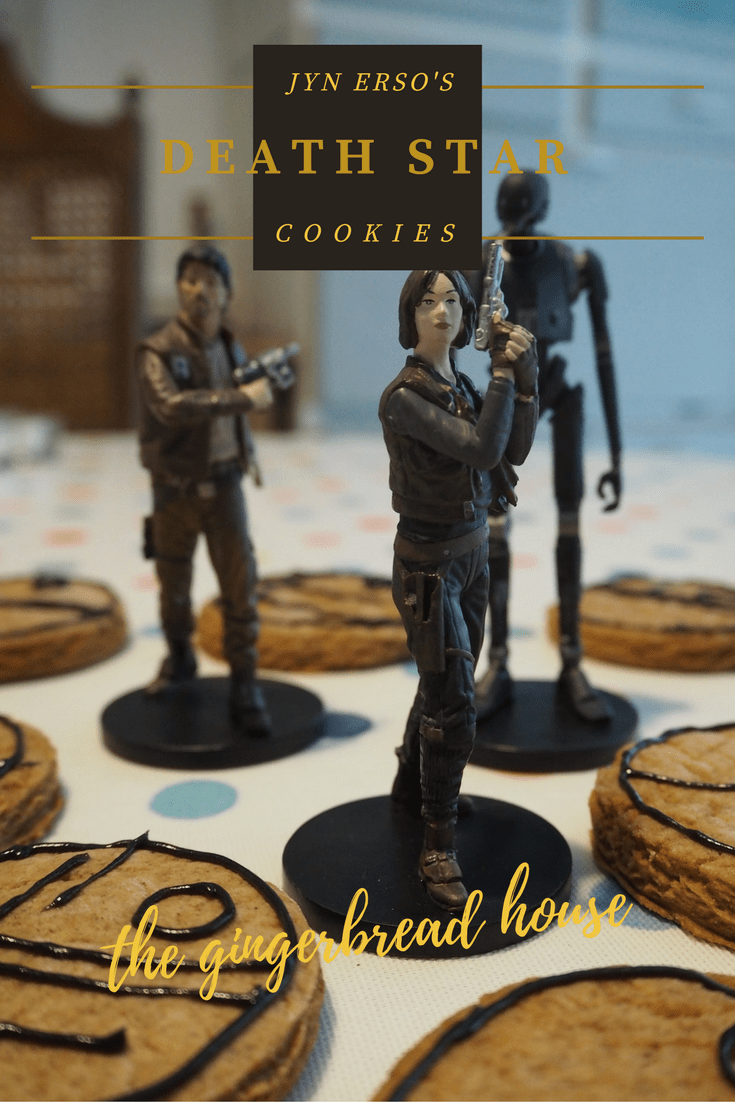 Jyn Erso's Death Star cookies - the gingerbread house