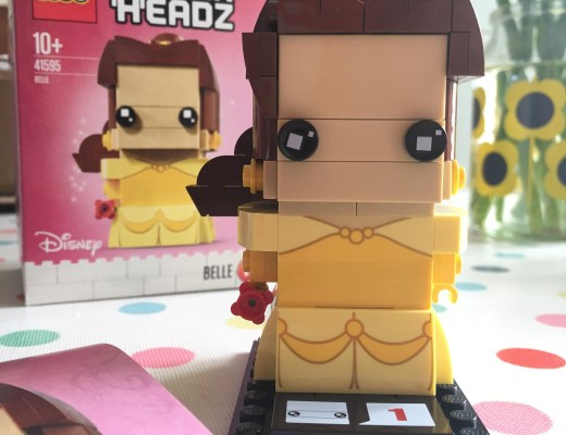 Brickheadz Belle figure