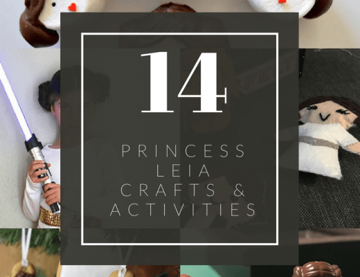 14 Princess Leia crafts and activities for kids