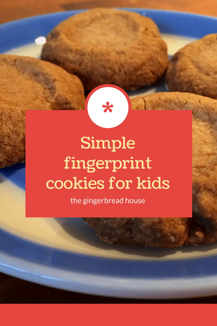 Simple fingerprint cookies
