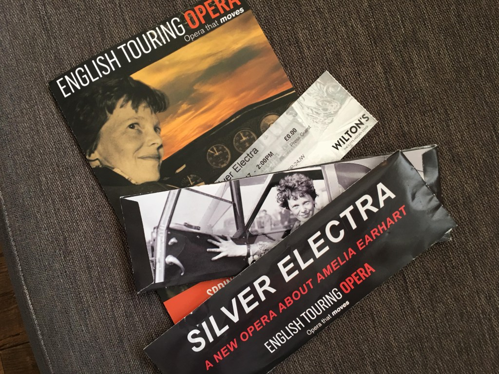 Silver Electra by the English Touring Opera