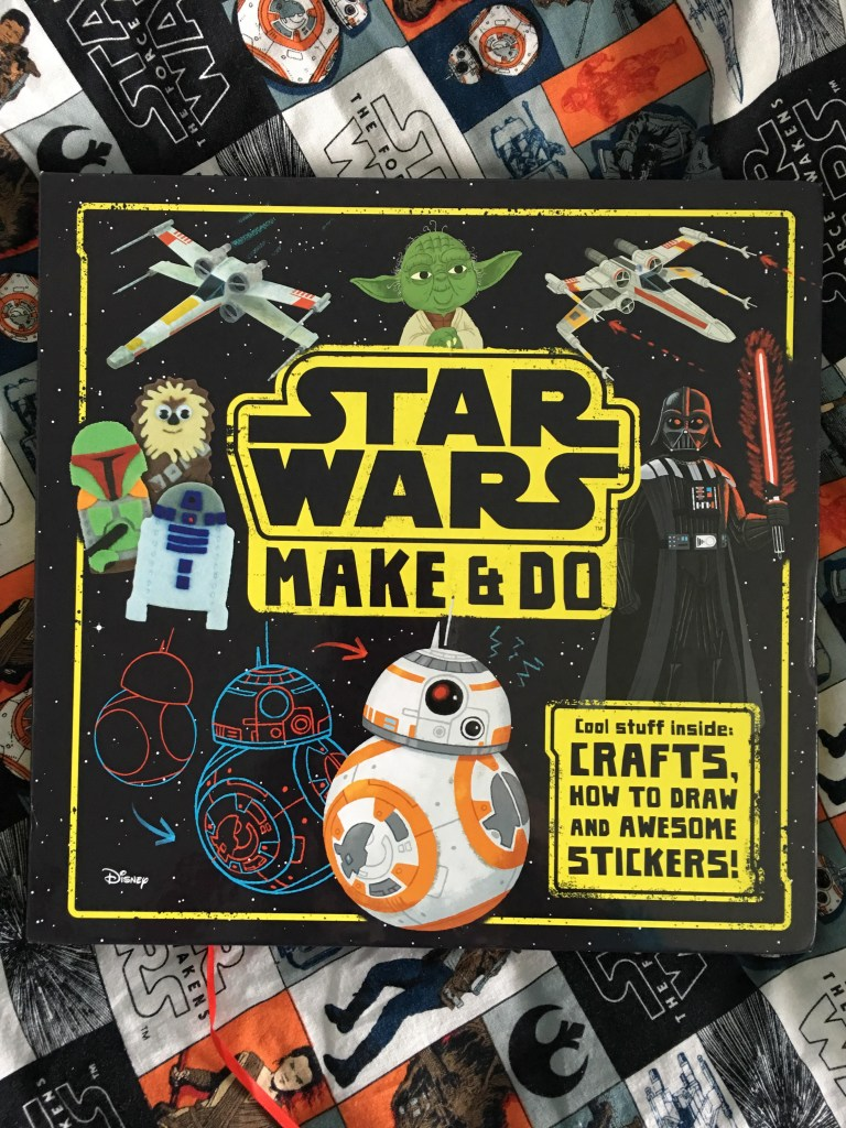 Star Wars Make and Do book