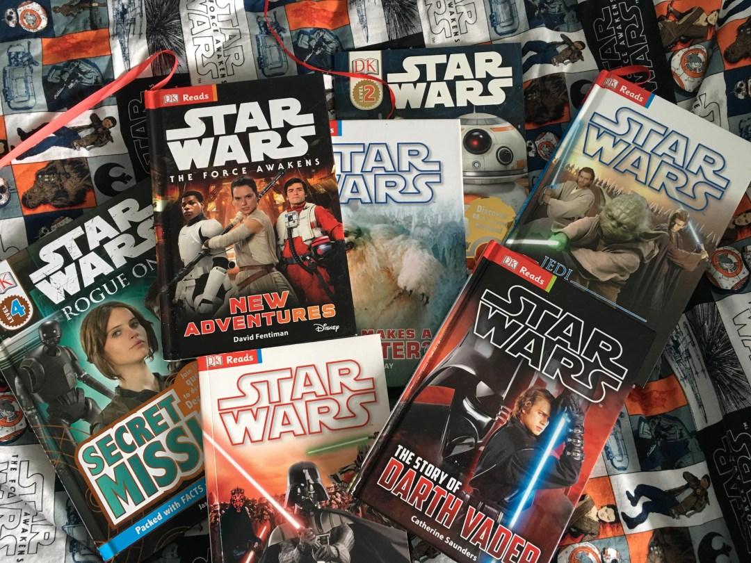 Star Wars books for 7 year old
