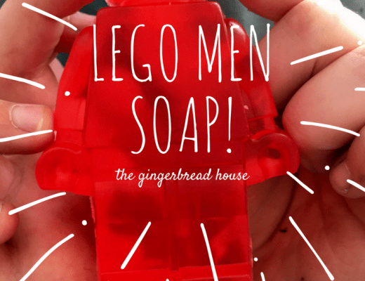 Easy Lego Men Soaps