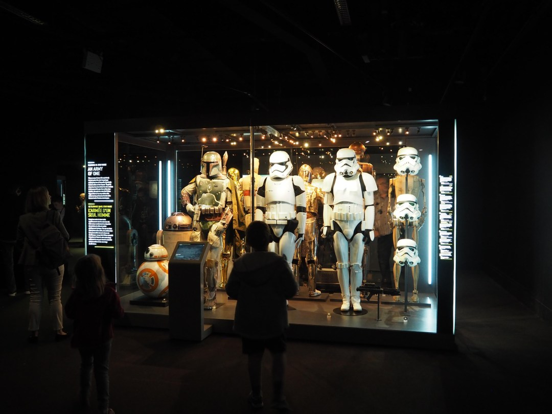 Stormtroopers at Star Wars Identities