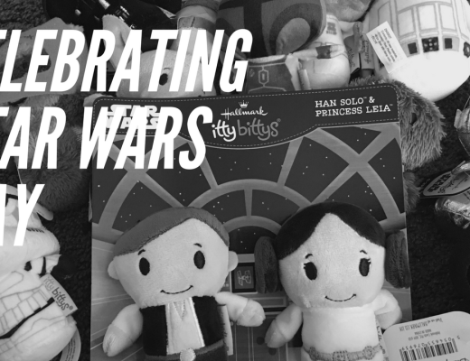Celebrating Star Wars Day {with ittybittys and Hallmark}