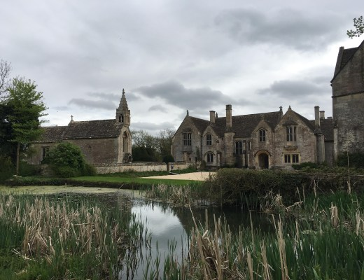 A visit to Great Chalfield Manor and Gardens with kids