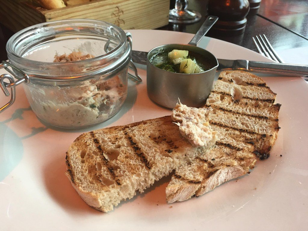 Mackerel Rillettes at Cafe Rouge
