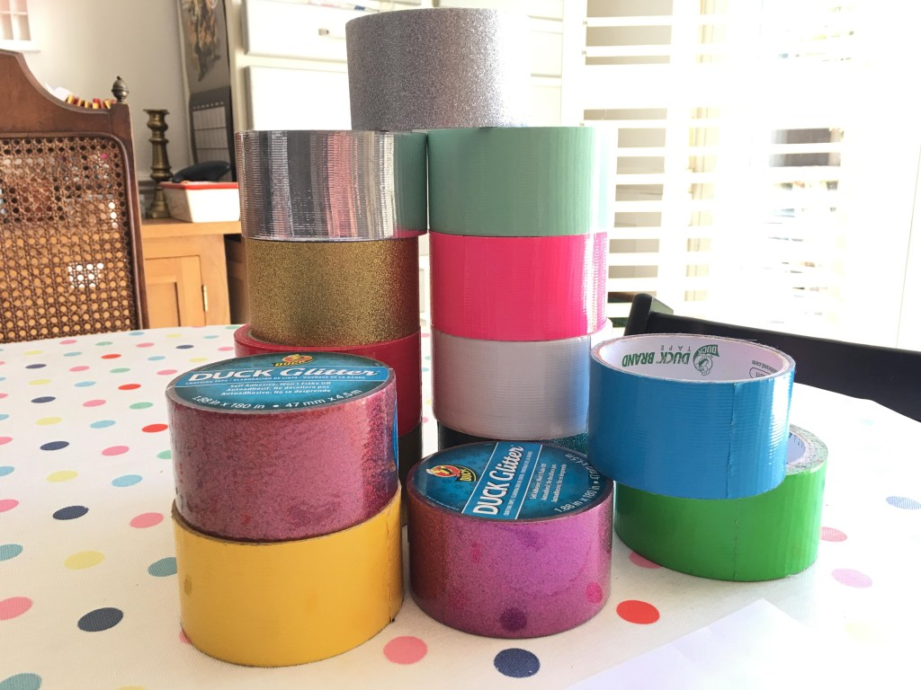rolls of Duck Tape
