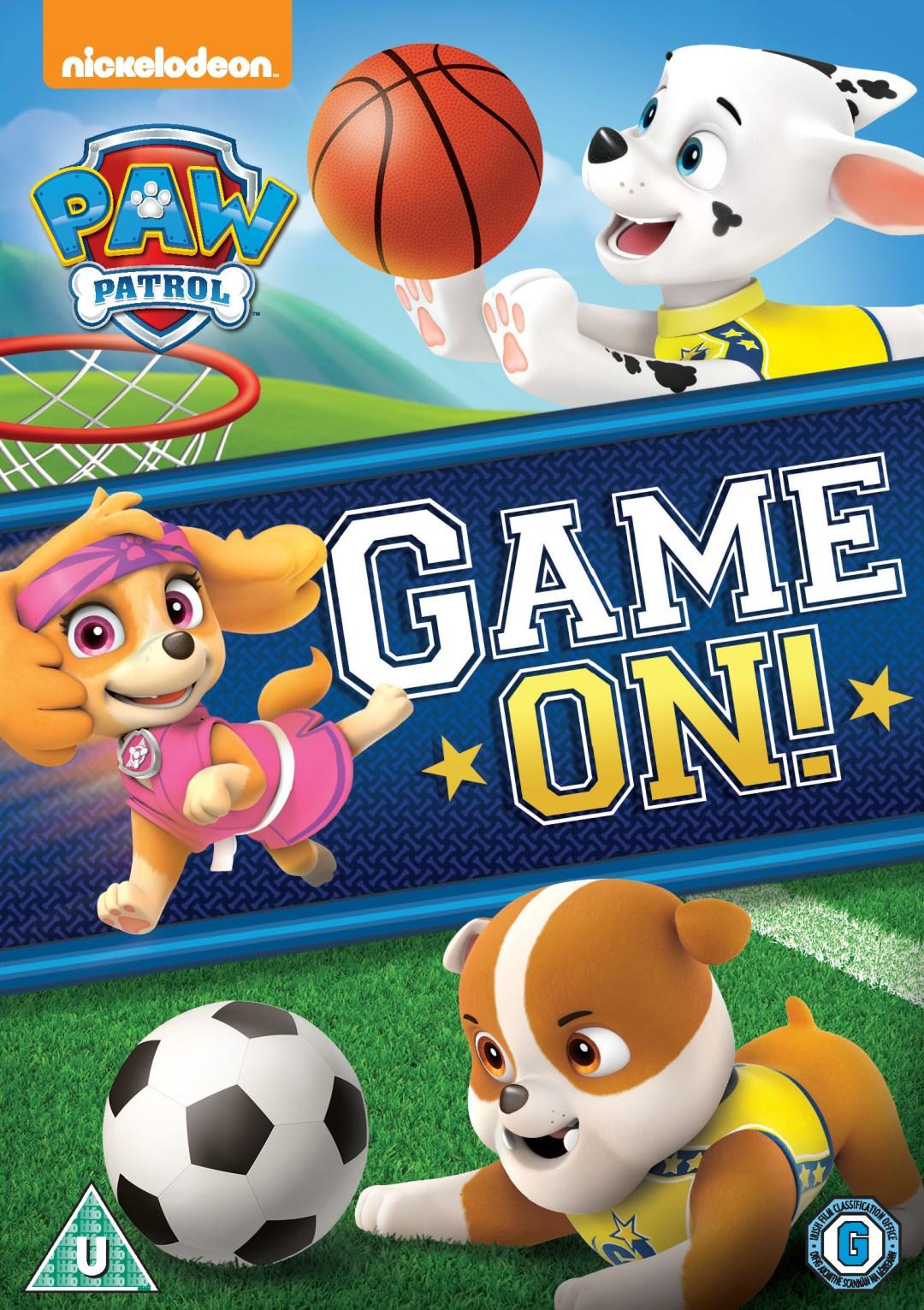 PAW Patrol: Game On! DVD