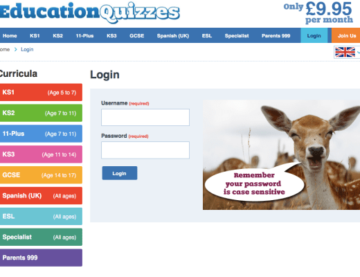 Education Quizzes for kids at home and school