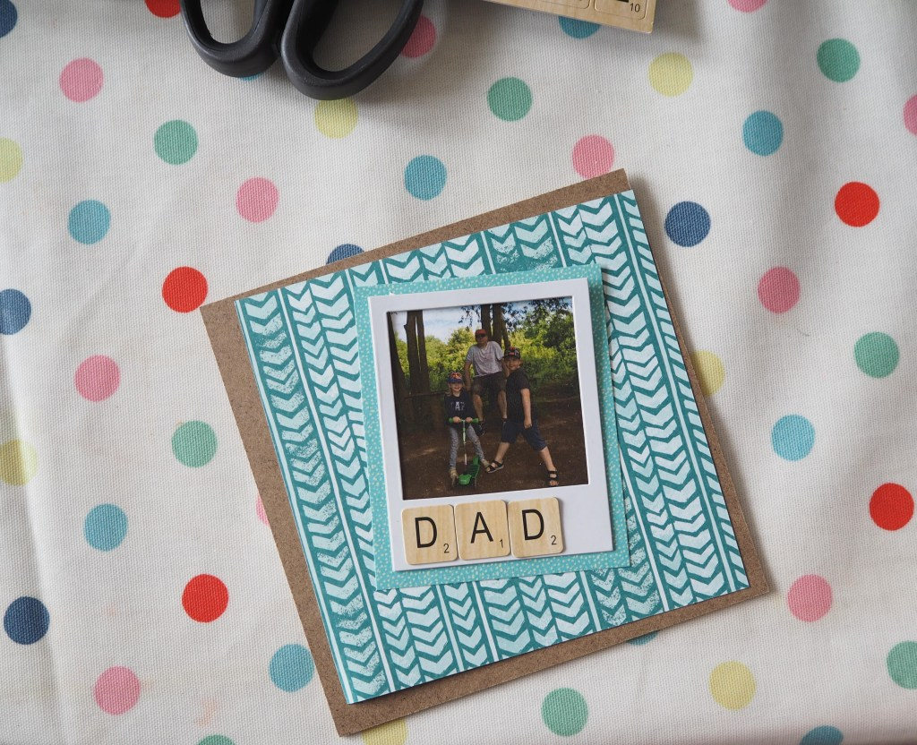 personalised father's day frame