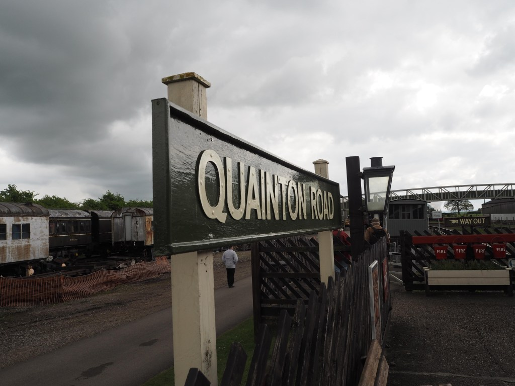 Quainton Road sign