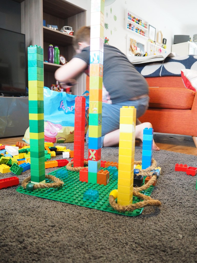 Lego Ring Toss game