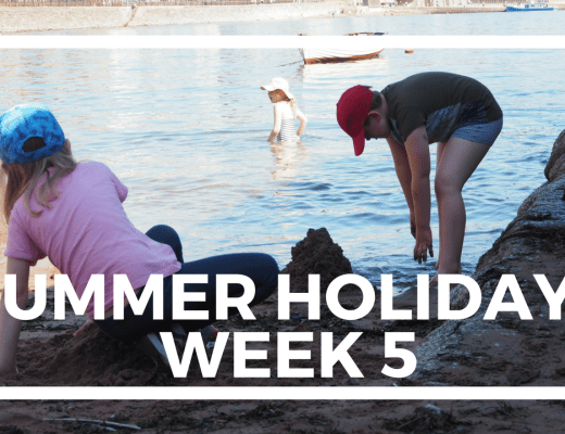 SUMMER HOLIDAYS WEEK 5