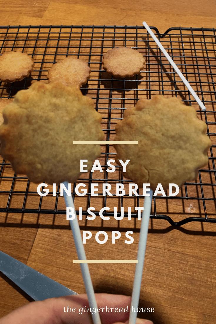 easy gingerbread biscuit pop