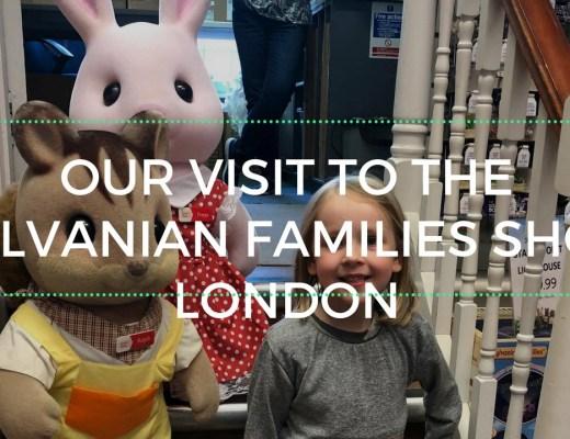 A trip to the Sylvanian Families shop London