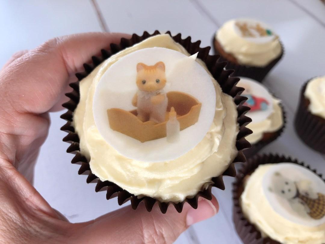 Sylvanian Families cupcakes